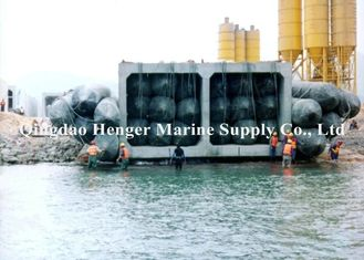 High Buoyancy Force Inflatable Marine Airbags , Load - Bearing Boat Lift Air Bags